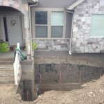 Foundation Settlement Fix Front Porch